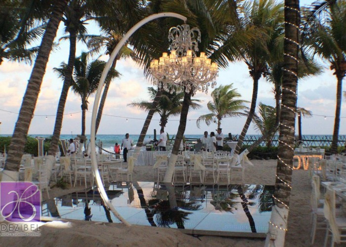 Wedding cancun-Planners - Beautiful Chandelier _-106
