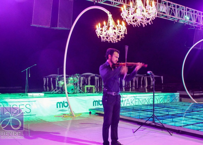 Beach Wedding cancun- Violin-2