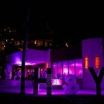 Giant letters for weddings and events in cancun