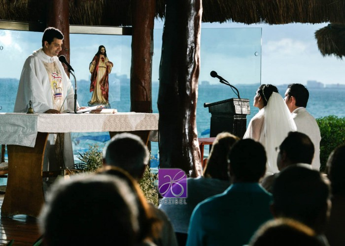 Wedding cancun-Planners - Ceremony at the beach- Awesome view-8