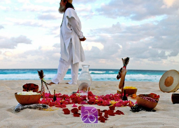 Wedding cancun-Planners - Mayan Ceremony at the beach-22