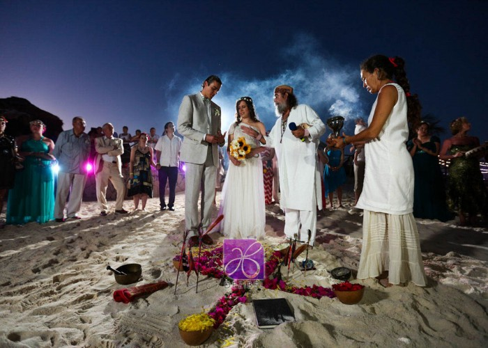 Wedding cancun-Planners - Mayan Ceremony at the beach-84