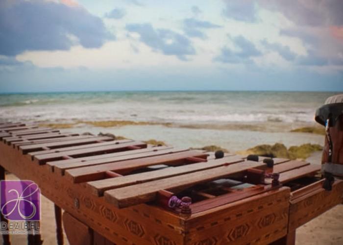 Beach Wedding cancun- Marimba-4