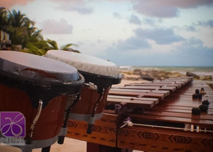 Beach Wedding cancun- Marimba-5