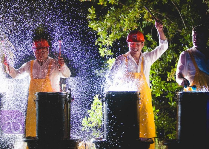 Beach wedding cancun-Planners-water how drums-show services for events-