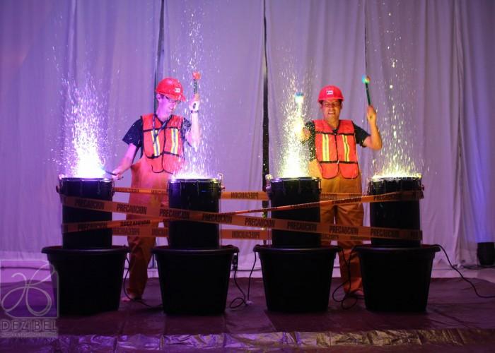 show-tambores-de-agua-cancun